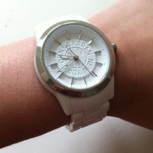 DKNY Accessories - White DKNY watch