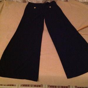 Pants - Wide leg slacks