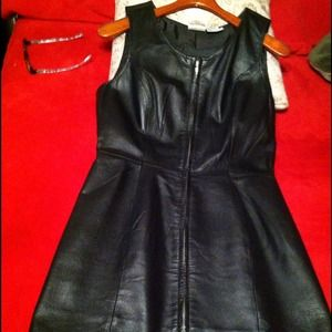 Dresses & Skirts - LEATHER DRESS👗