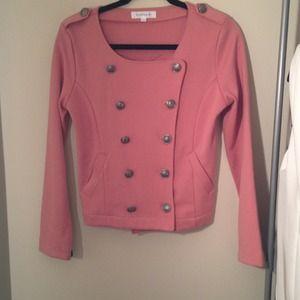 Rose Military Jacket