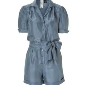 Juicy Couture Dresses & Skirts - ❗REDUCED❗ Silk Bird Romper will negotiate price