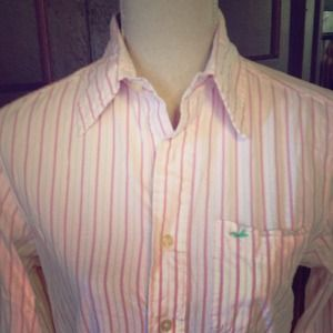 Pink Stripe Hollister But Down