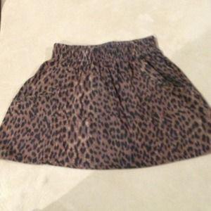 cotton on Dresses & Skirts - Cheetah mini skirt