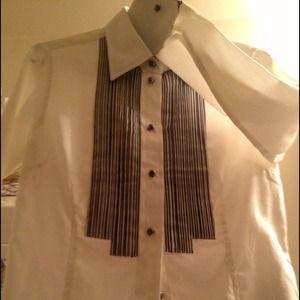 CLOSING SALE Ben Sherman Tuxedo-Styled Top NWOT