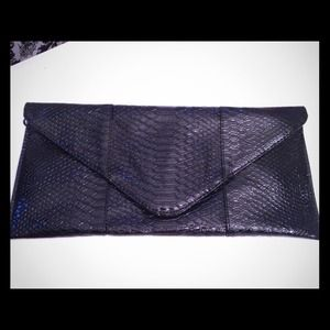 Handbags - Black Patton Clutch