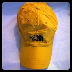 North Face Accessories - Yellow North Face Hat