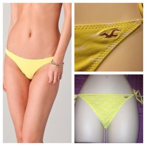 Hollister Other - String bikini bottom
