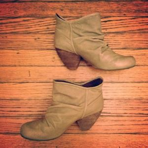 Blowfish leather ankle booties