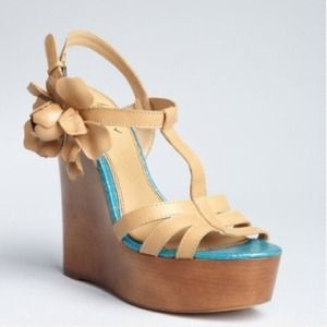 Badgley Mischka Shoes - Mark & James Maiko Wedge Size 5.5