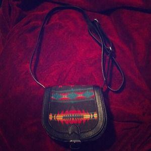 Small Tribal Print Bag