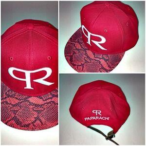 paparachi hats Accessories - Paparachi custom snakeskin strapback hat dc72598e9a5