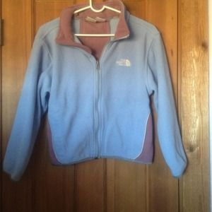North Face Tops - Girls size small north face fleece