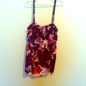 Tops - Abercrombie & Fitch Flower Tank