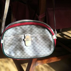 Authentic Vintage Gucci Crossbody Bag
