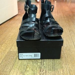 Dolce vita black sandals size 7