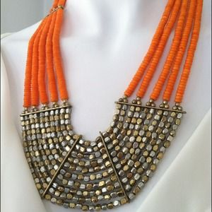 Rodelle statement necklace
