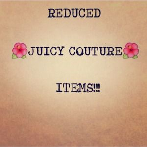 Juicy Couture Jewelry - Recently Reduced Juicy Couture Items!