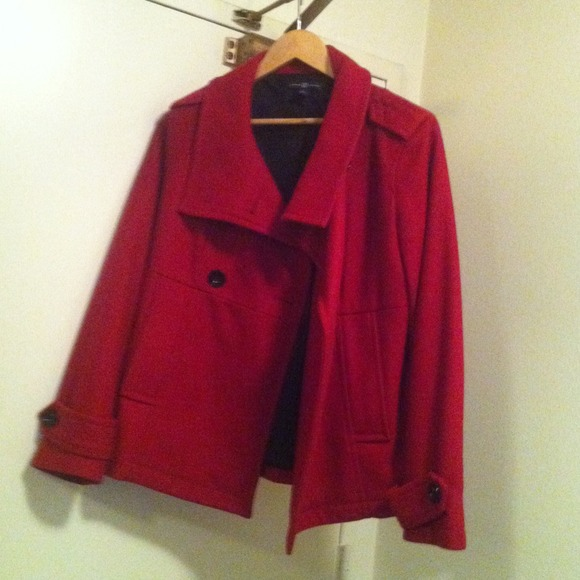 GAP Jackets & Coats - GAP-red peacoat