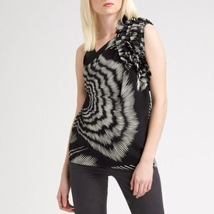 Sold! Print Silk Top