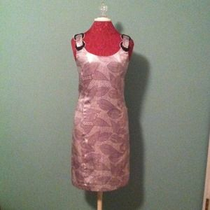 Tory Burch Pewter Cocktail Dress