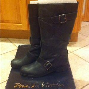 Pour La Victoire Shoes - Pour La Victoire Leather Boots