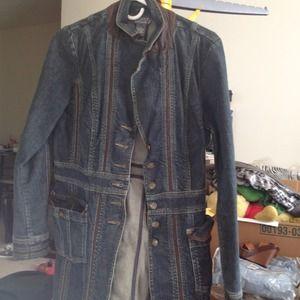 Denim - Long jean jacket