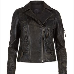 BRAND NEW Black All Saints Kendall Biker Jacket