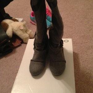 ALDO wedge boots