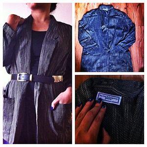 Jackets & Blazers - Vintage black and white blazer!