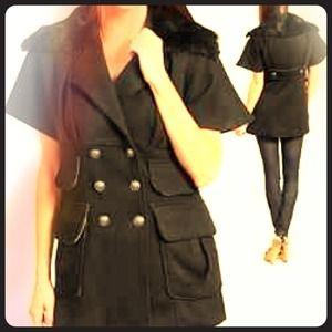 Jackets & Blazers - New Coat w/fur neck