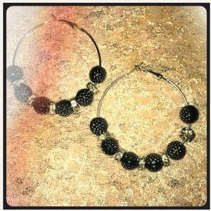 Jewelry - BasketBall Wives Inspired Hoop Earrings
