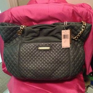 Juicy Couture Handbags - Big quilted leather juicy handbag new