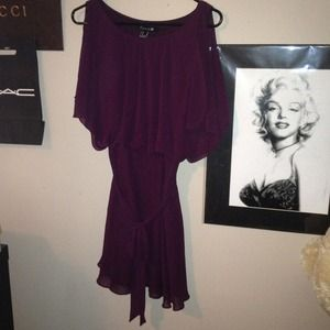 Dresses & Skirts - Eggplant flow dress.