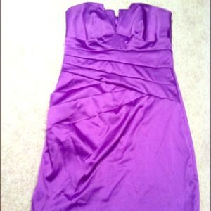 Dresses & Skirts - Stunning jewel purple short dress!!