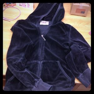 Juicy Couture Jackets & Blazers - Authentic Juicy Couture Velour zip up !