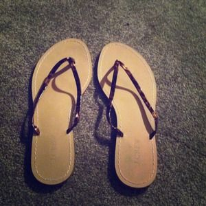 J.CREW sandals leather up