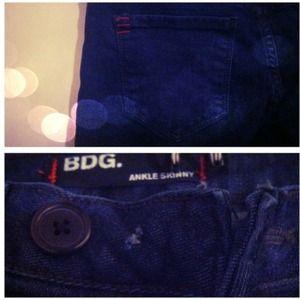 BDG  Denim - BDG ankle skinny jeans