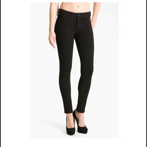 Dylan George Denim - Dylan George Olivia Pointe black leggings.