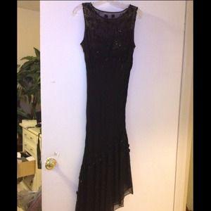 Gorgeous Cache All Black Dress
