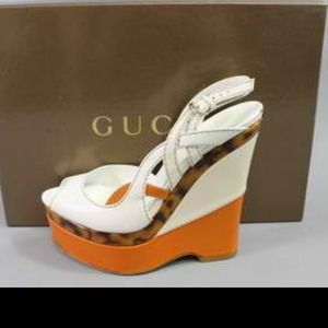 Gucci Shoes - 👠100 % AUTHENTIC GUCCI wedges👠