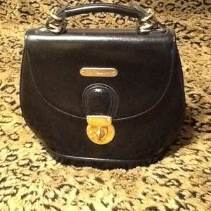 Ralph Lauren Handbags - Ralph Lauren Black Leather Purse