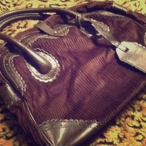 H&M Handbags - Brown corduroy purse from H&M