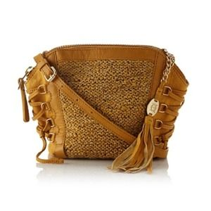 Olivia Harris Handbags - Reduced! Olivia Harris Columbier Laced Woven Bag