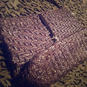 Handbags - Braided Brown Bag. Made in Italy
