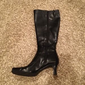 Kenneth Cole Boots - MUST GO!!!! Black (almost) knee high boots