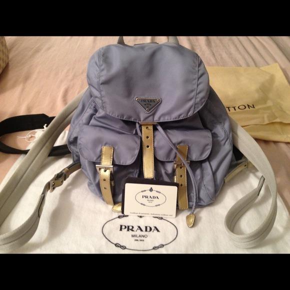38e986bae39923 Prada classic nylon backpack baby blue. M_50c63c8452ab0619f4035a97