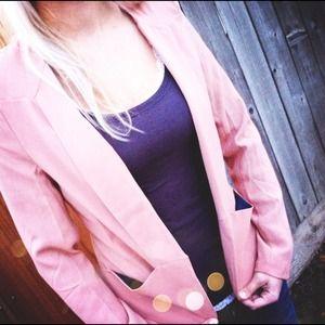 Jackets & Blazers - Mauve Blazer