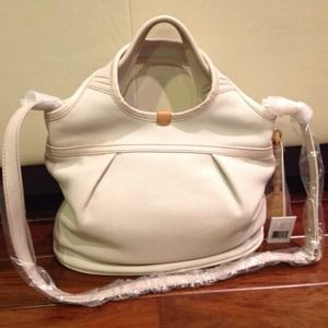 UGG Handbags - $145pp UGG convertible tote purse cream beige