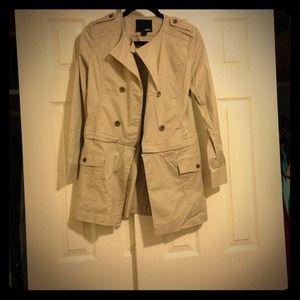 Forever 21 Jackets & Blazers - New khaki forever 21 coat jacket  sz S
