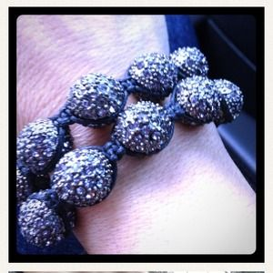 Jewelry - Stackable stunning bracelets with faux diamonds